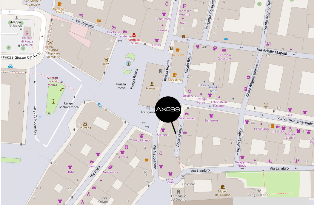 AXESS PUBLIC RELATIONS S.R.L, Vicolo Del Duomo, 2 20900 Monza