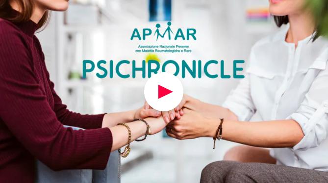 """APMAR ed EPPELA lanciano il progetto di crowfunding """"PSICHRONICLE"""" per riempire il gap esistente nel supporto psicologico ai pazienti cronici - Axess PR chronicle"""